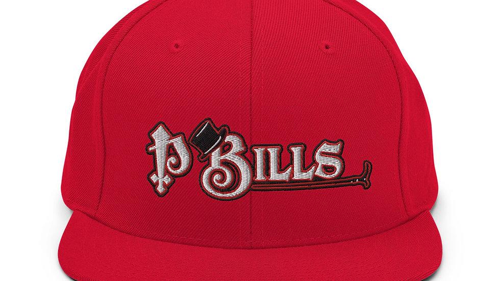 P Bills Top Hat Snapback Hat