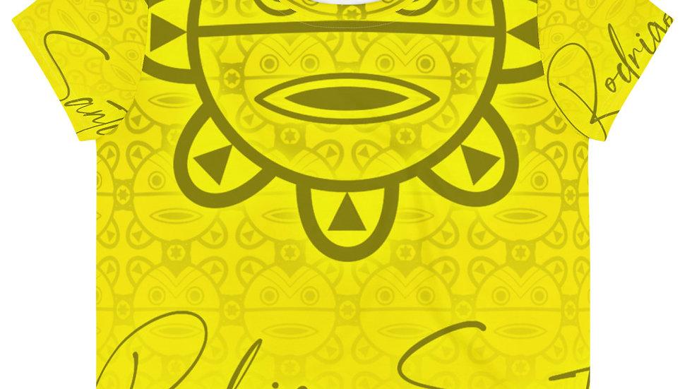 Rodrigo Santi Sunrise Lemonade Crop Tee
