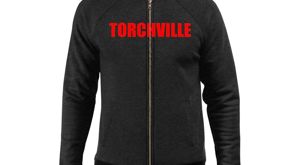 TORCHVILLE Red Bomber Jacket