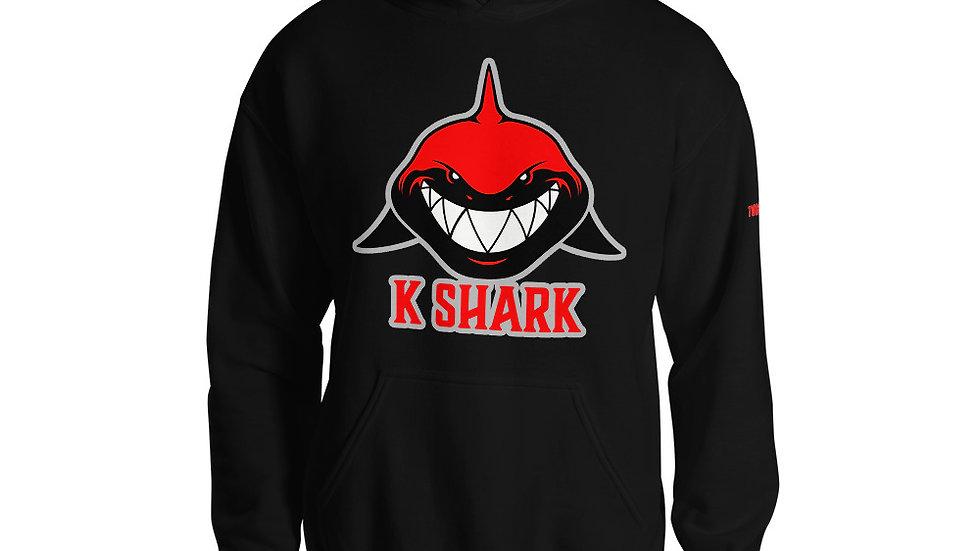 KShark SHARKFACE RED Hoodie