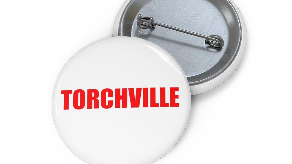 TORCHVILLE RED Pin Buttons