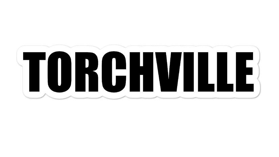 TORCHVILLE Bubble-free stickers