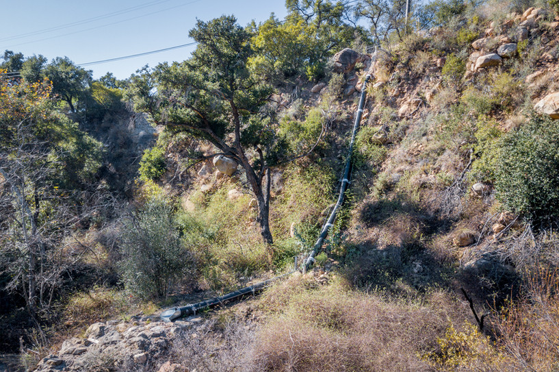 Mission Canyon Storm Drain