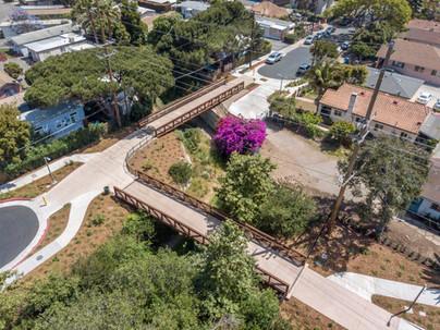 Cacique & Soledad Pedestrian/Bike Bridges