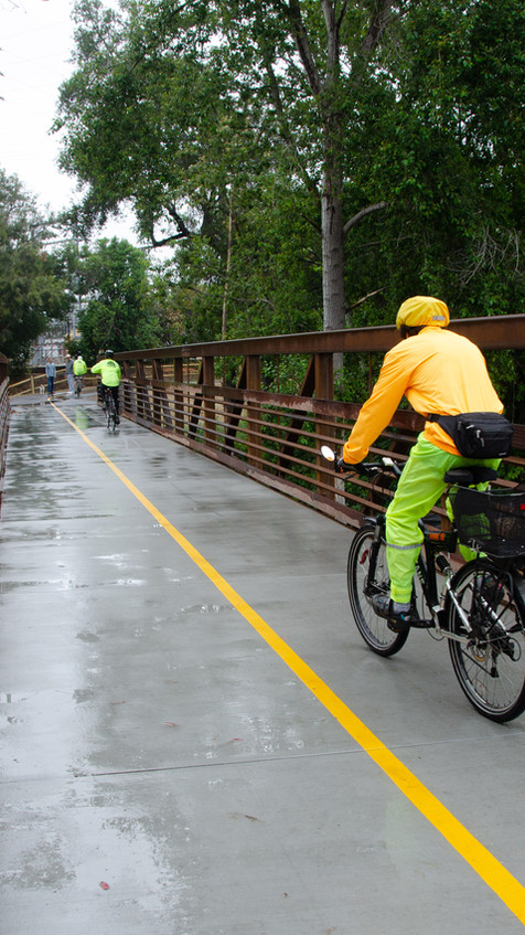 San Jose Creek Multi Use Trail Bridge