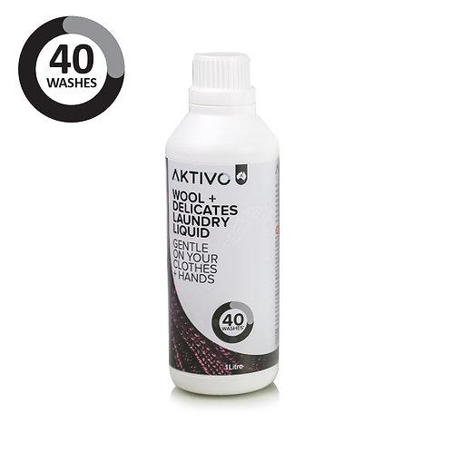 AKTIVO Wool + Delicates Laundry Liquid 1 Litre