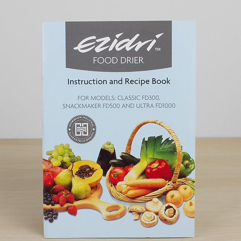 Instruction / Recipe Book (Ultra / Snackmaker/Classic)