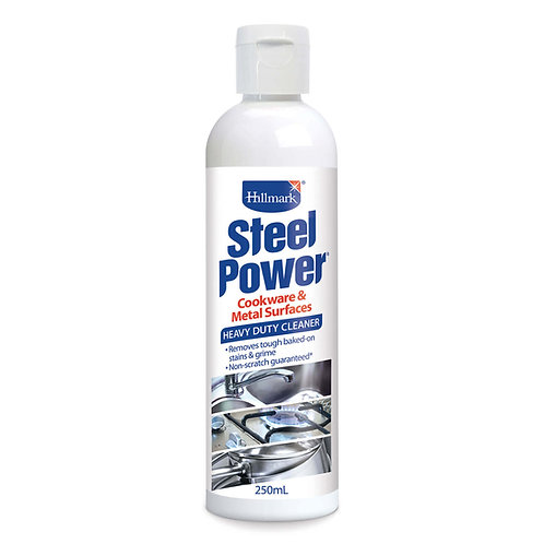 SteelPower Heavy Duty Cleaner for Cooktops, Cookware & Sinks