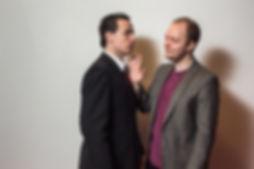 Christian Hersker og Michael Lysgaard