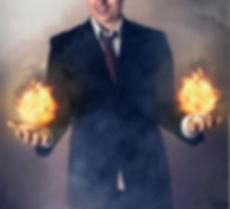 Christian Hersker med ild