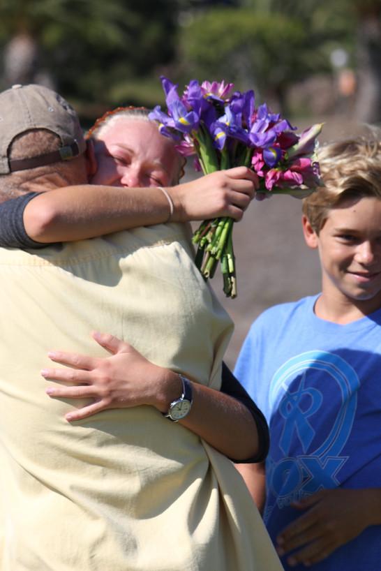 Picnic hug