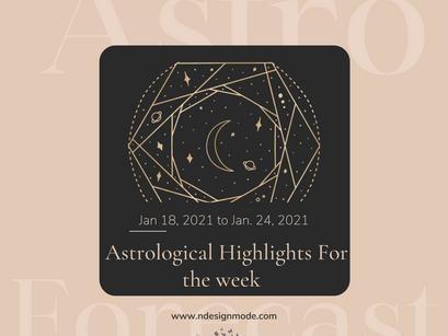 Astro Forecast Jan. 18-24, 2021