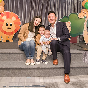 Baby Jack's 100 days party