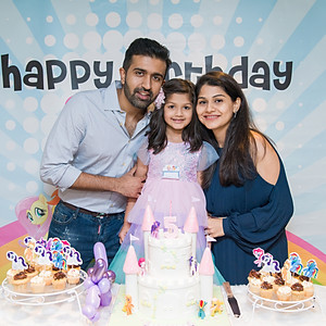 Samaria's birthday party