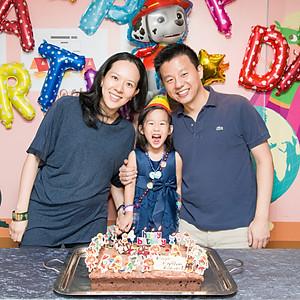 Alexis' birthday party