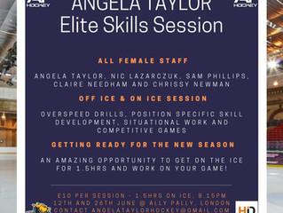 Angela Taylor - Women Elite Skills Clinic