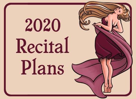 2020 Recital Announcement!