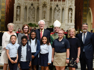 SMH Students Inducted by the Catholic Schools Foundation into Eighth Class of Peter S. Lynch Scholar