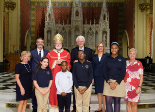St. Mary's Students Inducted as Peter S. Lynch Scholars