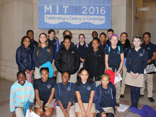SMH Students Head to M.I.T. for Science Lab!