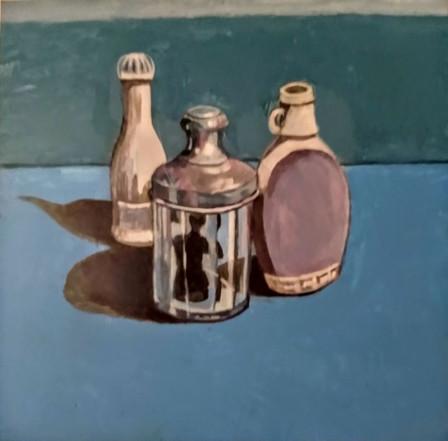 Still Life Acrylic Painting with Venus i