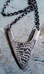 Sterling Silver Arrowhead Neckpiece