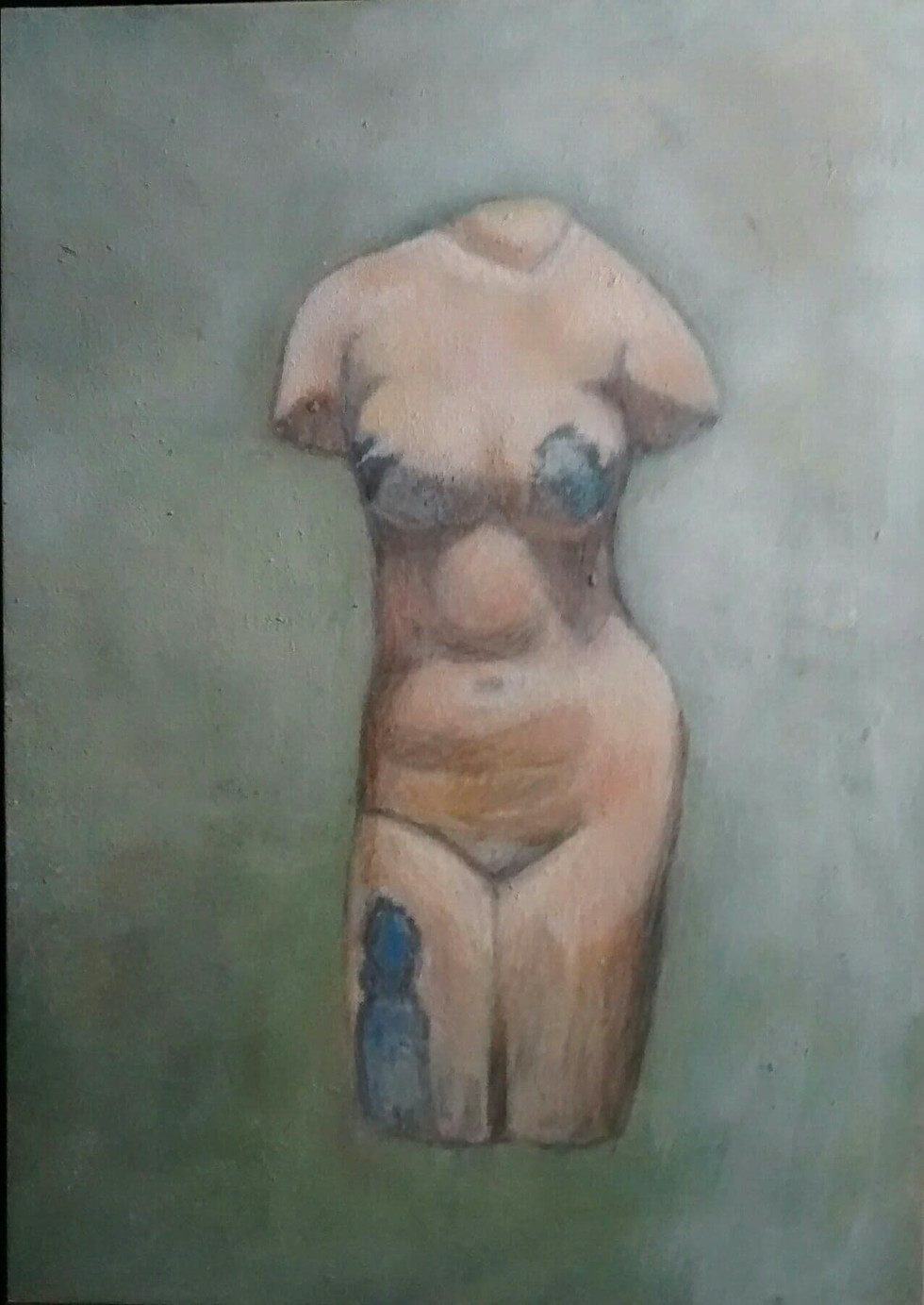 Ancient Glass Nude