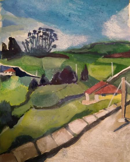 Ingapirca Landscape