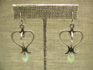 Sterling Silver Lantern Earrings