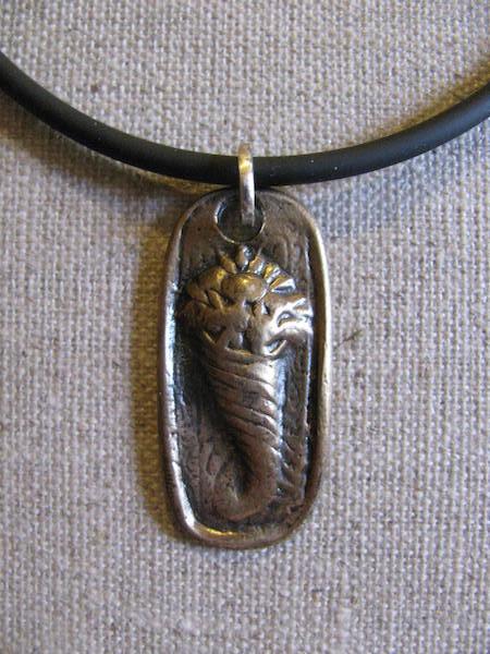 Bronze Cornucopia Necklace