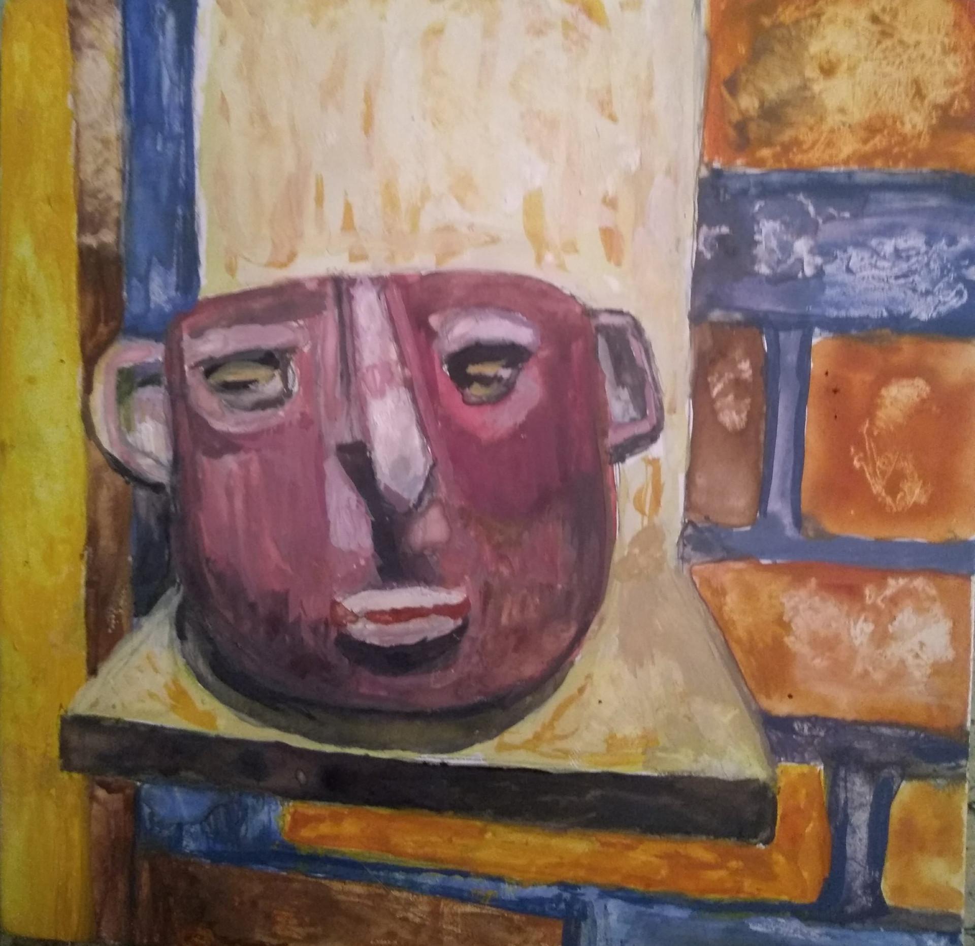 Ancient Mask Ecuador