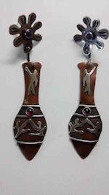 Greek Urn Earrings