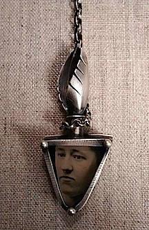 Neckpiece with Tin Type