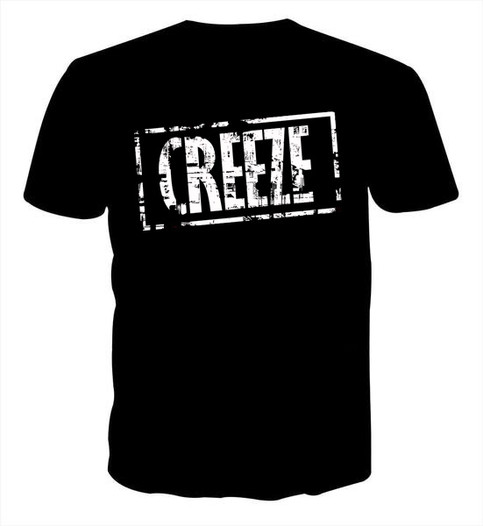 THE BLACK CREEZE TEE'S ARE BACK!!!