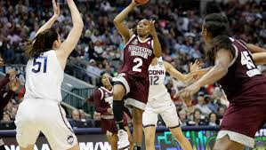 Mississippi State stands up to Connecticut in epic upset