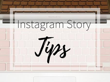 Instagram Story Tips