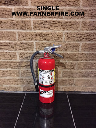 Nice REFURBISHED 5# LBS. ABC FIRE EXTINGUISHER