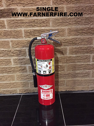 Nice REFURBISHED 10# LBS. ABC FIRE EXTINGUISHER