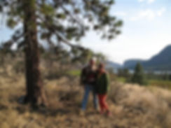 Wildlife Habitat Stewards,Carla Leinweber and Richard Hawthorne of Bighorn Ridge Estate