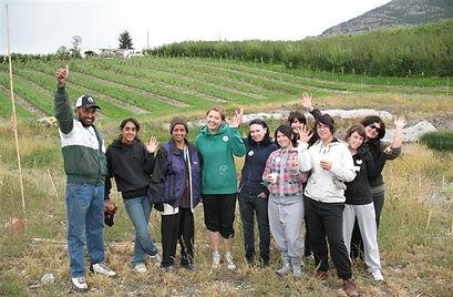 Kambo Volunteers Habitat Enhancement in Cherry Orchard