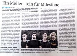 Thuner Tagblatt Milestone 2015
