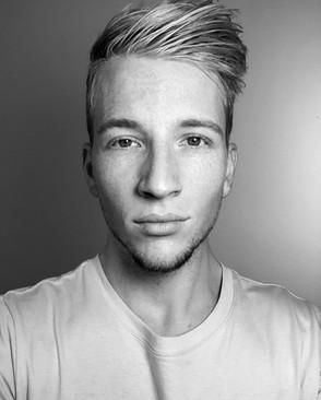 Nate Blond Headshot B/W