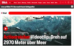 Blick TV Schilthorn 2020