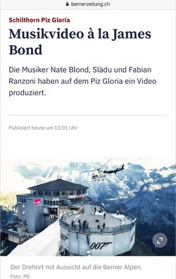 Berner Zeitung Newspaper 2020