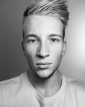 Nate Blond primary Headshot B/W