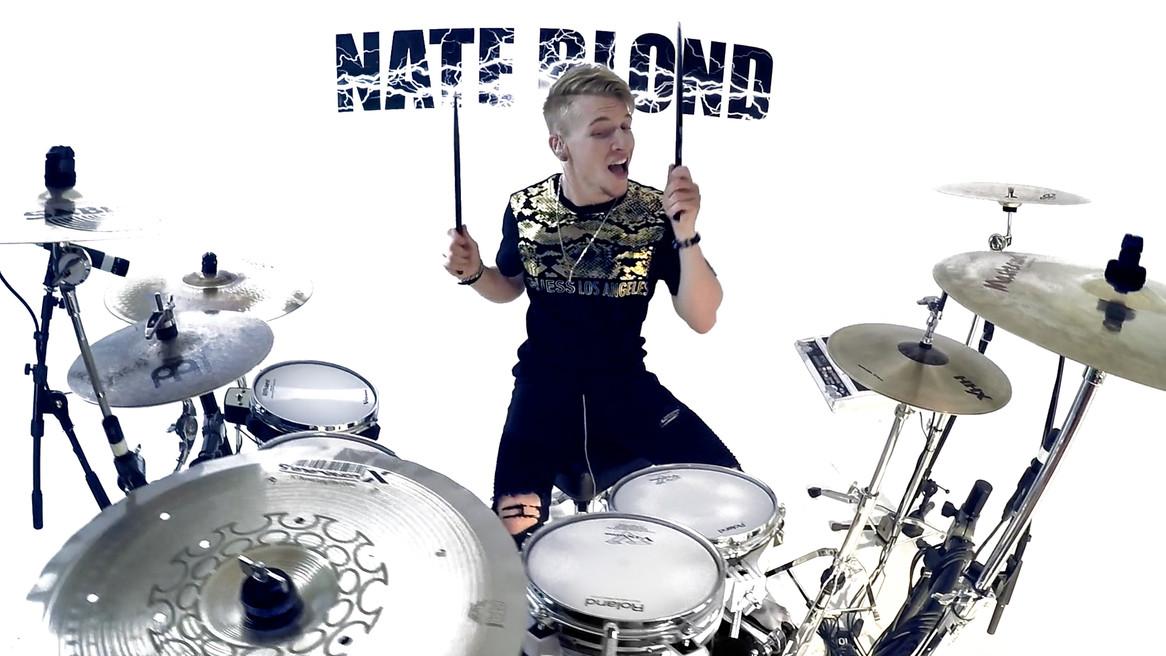 Nate Blond Studio Drums