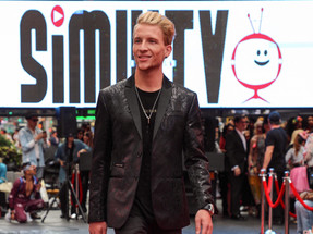 New York Time Square Fashion Show on the Red Carpet