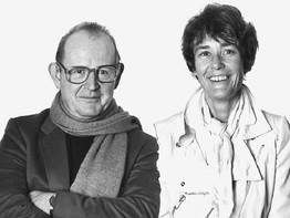 Trix et Robert Haussmann