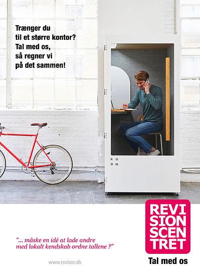 Revisionscentret annonce - lad os hjælpe - læs mere på www.revisor.dk