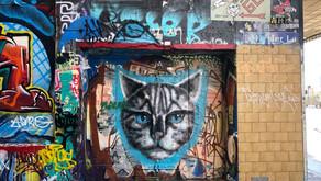 ストリートアートを見に、メルボルンを歩く